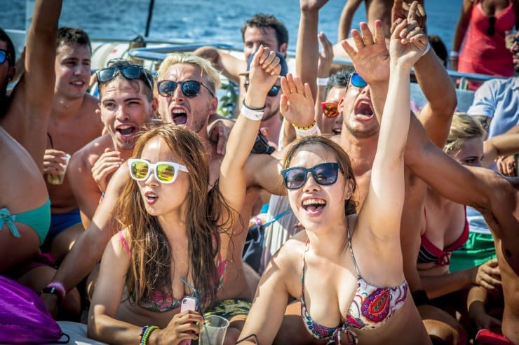 Boat party Booze cruise