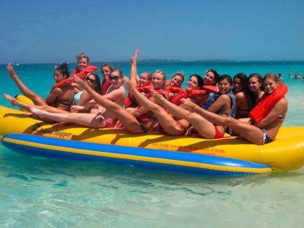 Banana boat ride 15 mins